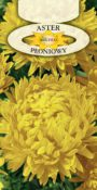 Aster peoniowy - Żółty