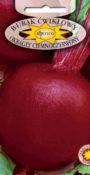 Burak ćwikłowy Okrągły Ciemnoczerwony