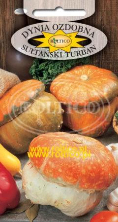Dynia ozdobna - Sułtański Turban
