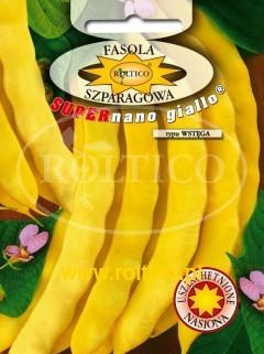 Fasola Karłowa Supernano Giallo typ (Wstęga)