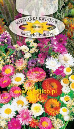 Mieszanka kwiatów na suche bukiety