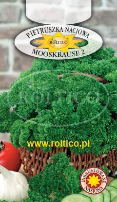 Pietruszka naciowa  Mooskrause 2 - liście karbowane