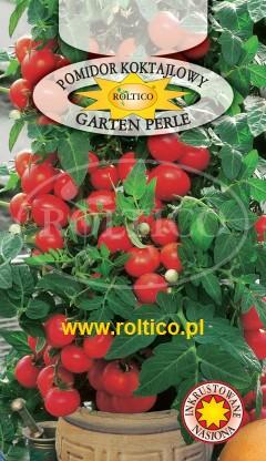 Pomidor koktajlowy Garten Perle