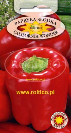 Papryka czerwona California Wonder