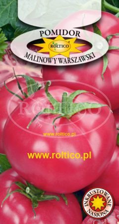 Pomidor gruntowy Malinowy Warszawski