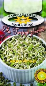 Nasiona na kiełki - Fasola Mung