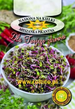 Nasiona na kiełki – Mieszanka Pikantna