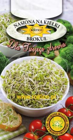 Nasiona na kiełki – Brokuł