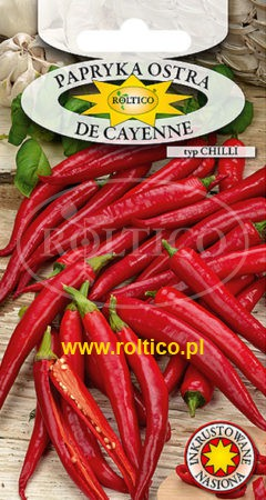 Papryka ostra De Cayenne Typ Chilli